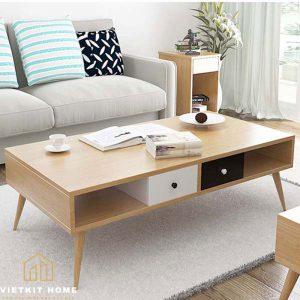 Mẫu bàn trà Đẹp 2021 trong phòng khách- Vietkit Home