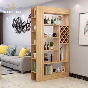 Mẫu tủ rượu Đẹp 2021 trong phòng khách- Vietkit Home