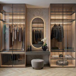 Mẫu tủ quần áo hiện đại phong cách sang trọng- Vietkit Home