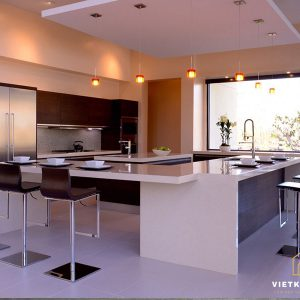 Tủ bếp nhựa composite- Vietkit Home 0986282217